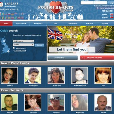View dating site for Poles in England