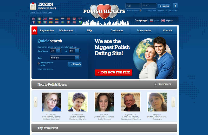 View page dating for Poles