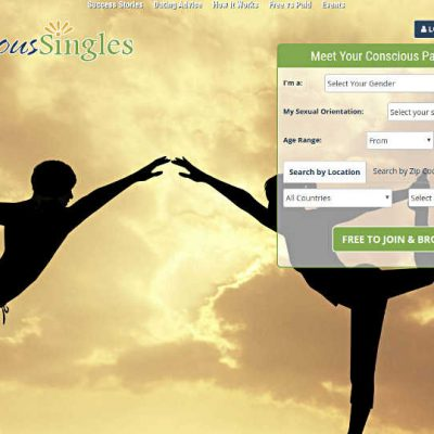 Online dating site for conscious singles