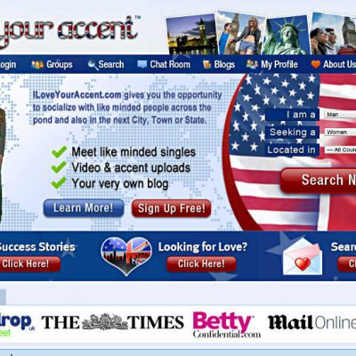 ILoveYourAccent.com can act as your new foreign friend