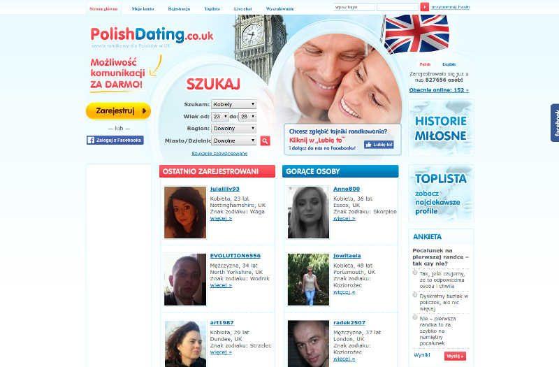 Strona główna randek dla Polaków w UK