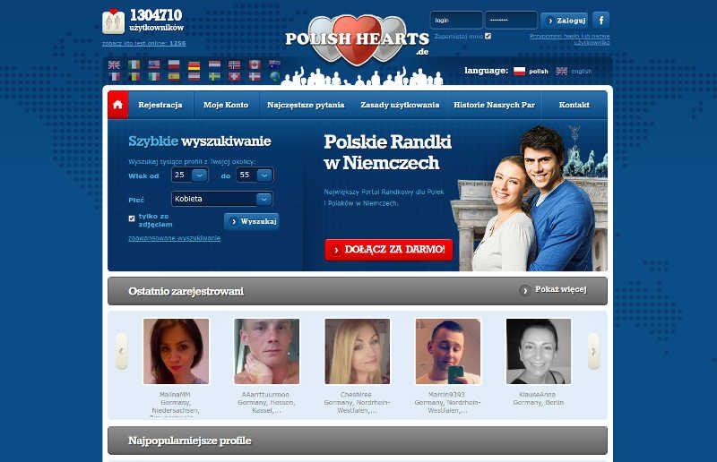 Największy Portal Randkowy dla Polek i Polaków w Niemczech.