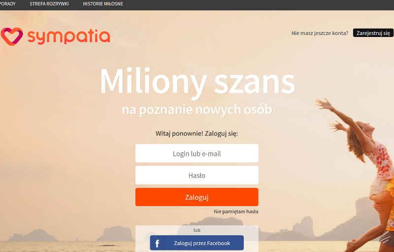 Jeden z największych portali randkowych w Polsce na poszukiwanie miłości