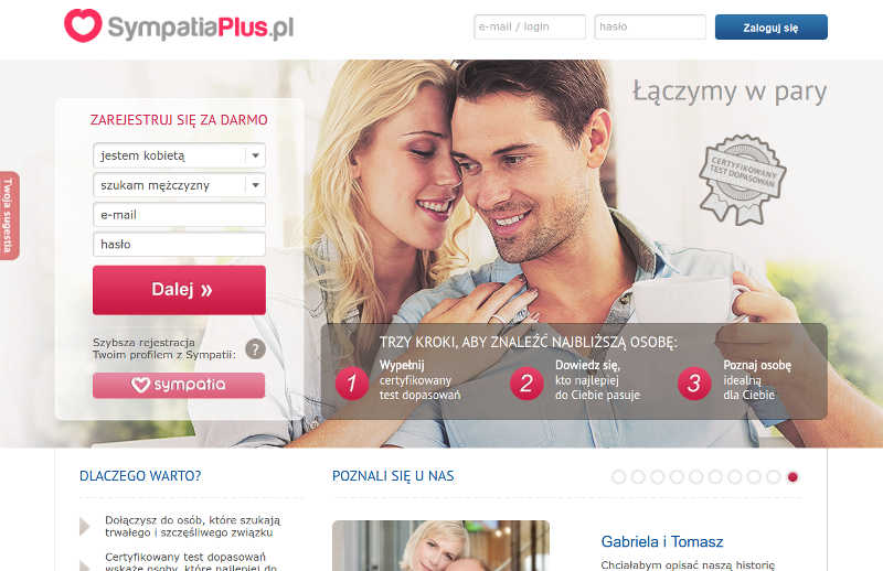Sympatiaplus pl - Portale randkowe - Ranking - Opinie