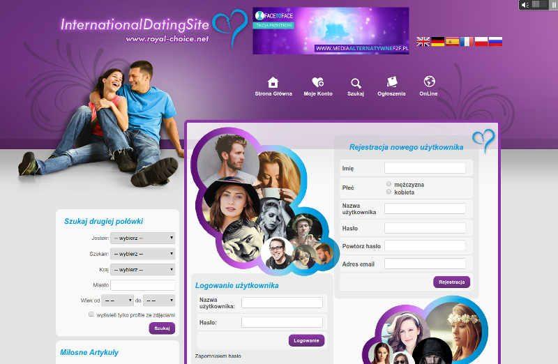 Royal-choice.net to międzynarodowa strona randkowa
