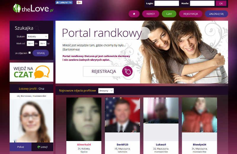 Darmowe polskie randki