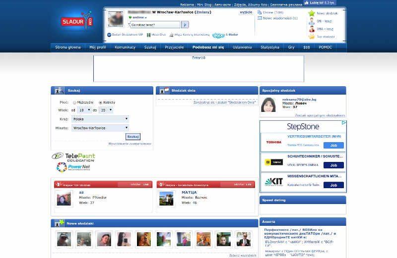 Portal randkowy z bułgarskim akcentem
