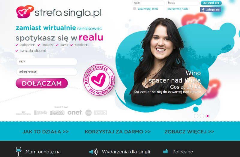 Stefasungla.pl to portal dla singli, którzy naprawdę spotykają się. w realu