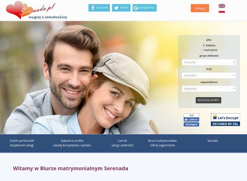 Kolejne randki w Polsce Serenada.pl