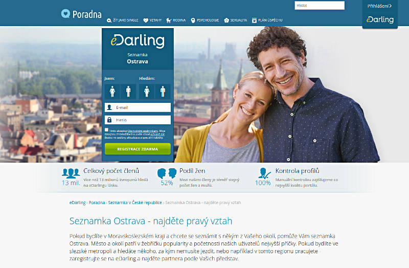 Randki Ostrava na eDarling - Portale randkowe - Ranking
