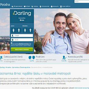 Jeden z czeskich portali randkowych