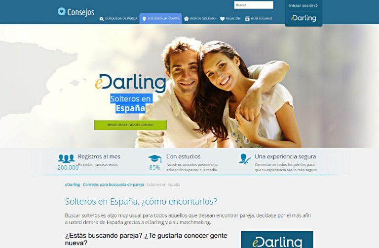 eDarling es - Single w Hiszpanii - Portale randkowe