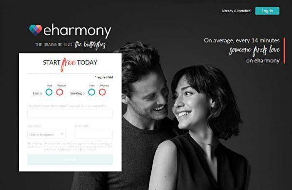 Średnio, co 14 minut, ktoś znajduje miłość na eharmonii